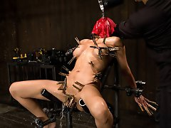 Beretta James annihilated from clips and waterboarded with an ass plug shoved in her. She is fingerfucked and made to cum with her plug in her mouth.