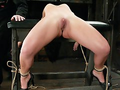 Julie Night loves bondage, loves pain, and loves to please