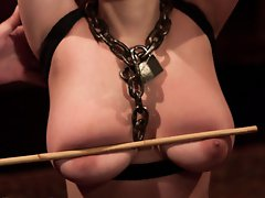 House slave sin is tickle tortured for forgetting her cuffs.