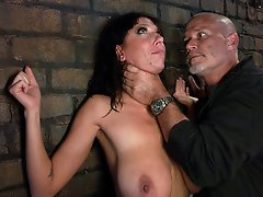 Huge Tit MILF punished and ass fucked in bondage for being a slut.