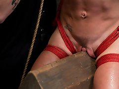 Hard bodied slut, Felony, makes her first appearance on TTOO only to find that there is only one Dom here and it's not her.